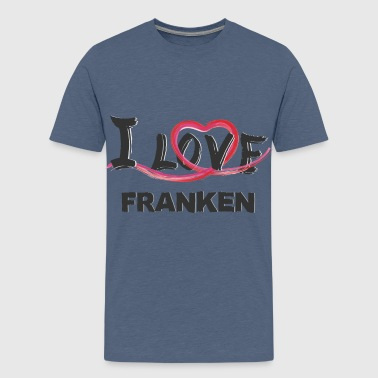 Franken - Teenager Premium T-Shirt