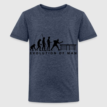 evolution_table_tennis_b - T-shirt Premium Ado