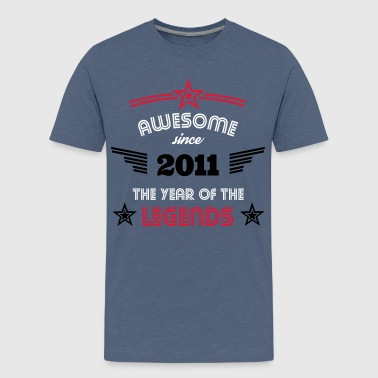 Awesome Since Awesome since 2011 - Teenager Premium T-Shirt