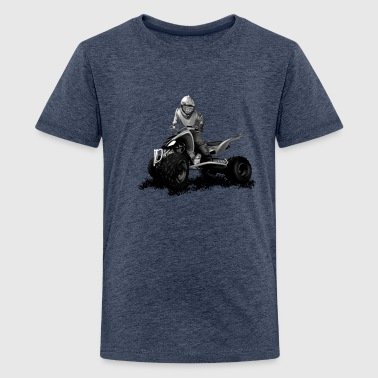 Quad Bike quad - Teenage Premium T-Shirt