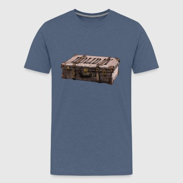 suitcase - Teenage Premium T-Shirt