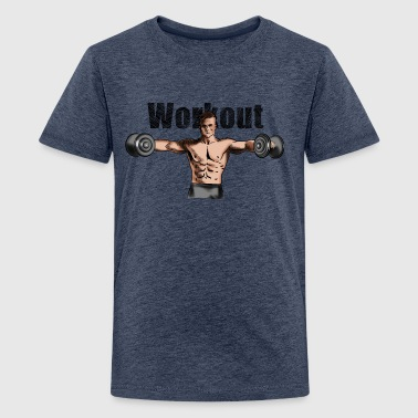 workout - T-shirt Premium Ado