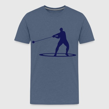 Hammer throw - Teenage Premium T-Shirt