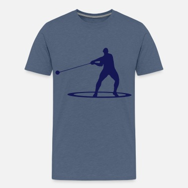 Hammer Hammer throw - Teenage Premium T-Shirt