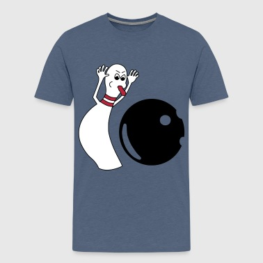 Bowling Pin - Teenager Premium T-Shirt