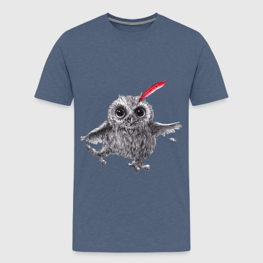 Chief Red - Happy Owl - Camiseta premium adolescente