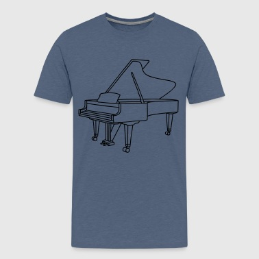 PIANO - Teenage Premium T-Shirt