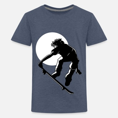 Kinder Skater skater - Teenager Premium T-Shirt