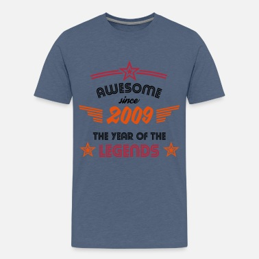 Awesome Since Awesome since 2009 - Teenager Premium T-Shirt