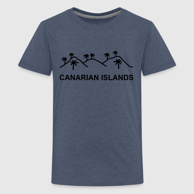 Canarian Islands - Teenager Premium T-Shirt