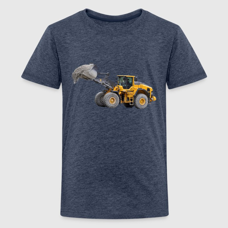 wheel loader - Teenage Premium T-Shirt