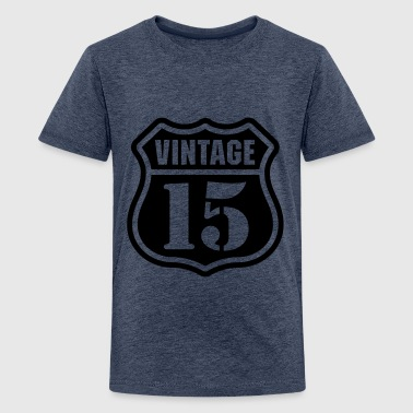 Vintage 15 Baby Long Sleeve Shirts - Teenage Premium T-Shirt
