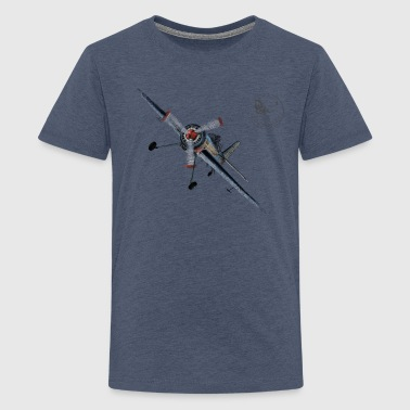 Plane - Teenage Premium T-Shirt