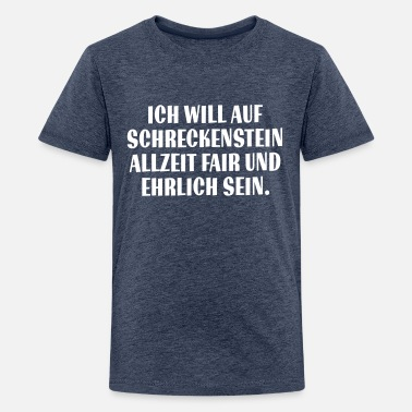 Teenager Premium T-Shirt - Ritterschwur - Teenager Premium T-Shirt
