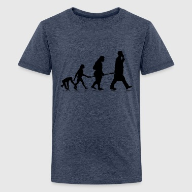 Sapient Human Evolution - Teenage Premium T-Shirt
