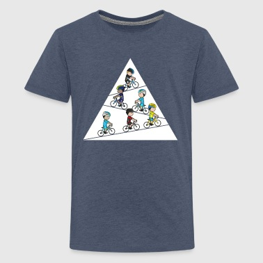 Mini-Team-Climbers - Teenage Premium T-Shirt