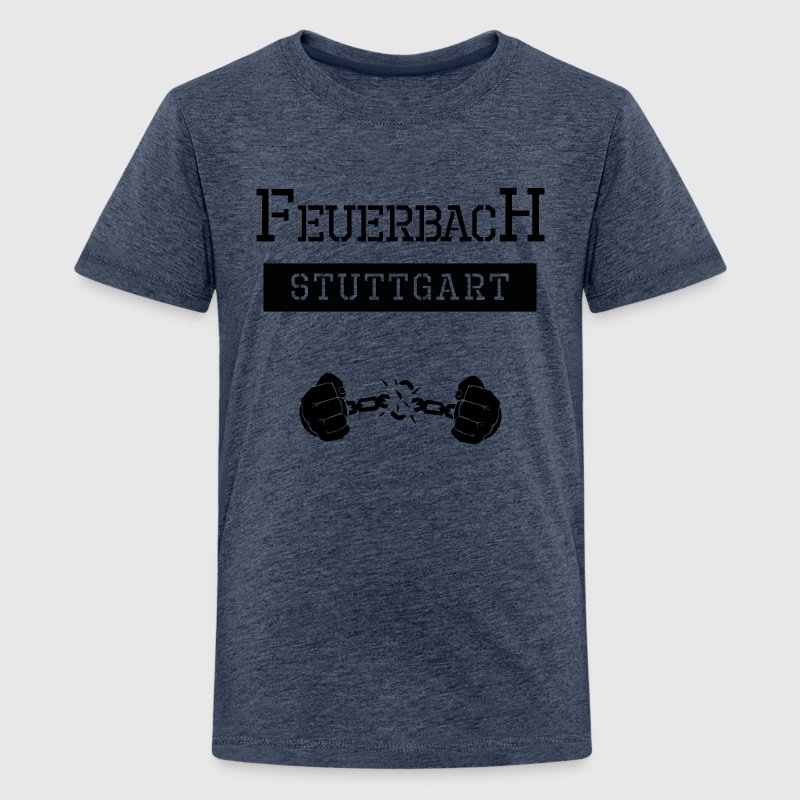 Ghetto Feuerbach Stuttgart - Teenager Premium T-Shirt