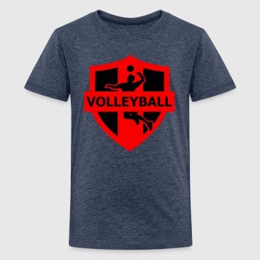 volleyball - Camiseta premium adolescente