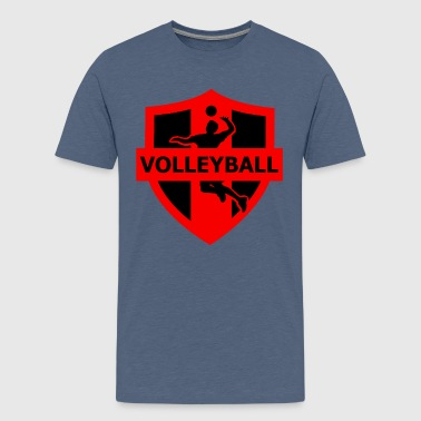 volleyball - Teenage Premium T-Shirt