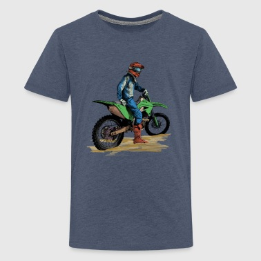 Bike Biker - Teenager premium T-shirt