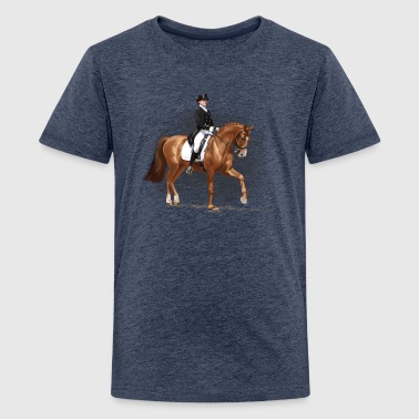 dressage - Teenage Premium T-Shirt