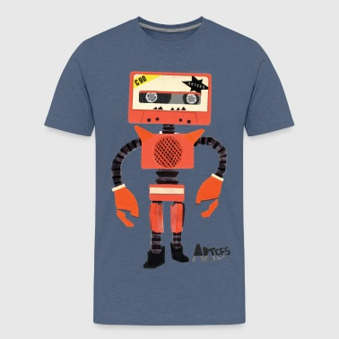 Orange Tape Robo - Teenager Premium T-shirt