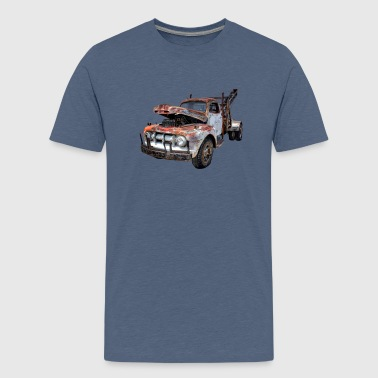 rusty car - Teenage Premium T-Shirt