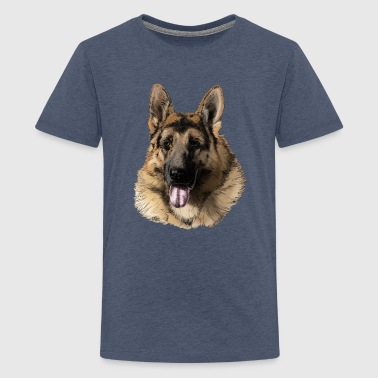 German shepherd - Teenager premium T-shirt