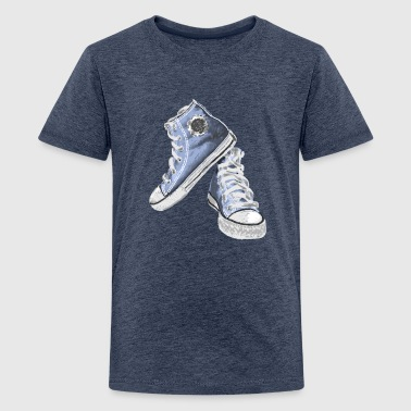 sneakers - Teenager Premium T-shirt
