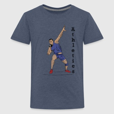 athletics - Teenage Premium T-Shirt