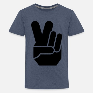 Waffen Peace peace - Teenager Premium T-Shirt