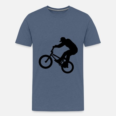 Bmx BMX Rider - Teenage Premium T-Shirt