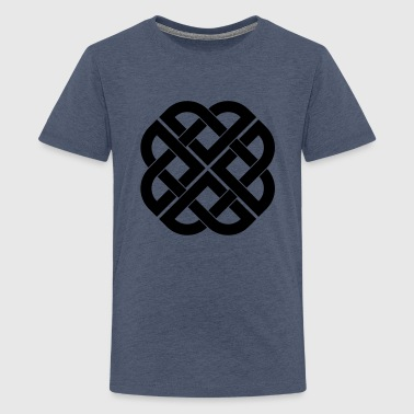 viking_knot_112011_c_1c T-shirts - Teenager premium T-shirt