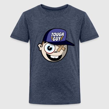 Tough Guy - Comic - Teenage Premium T-Shirt