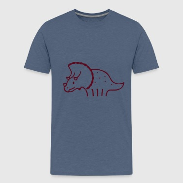 Triceratops Kind - Teenager Premium T-Shirt