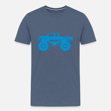 Truck monster truck 1012 - Teenage Premium T-Shirt