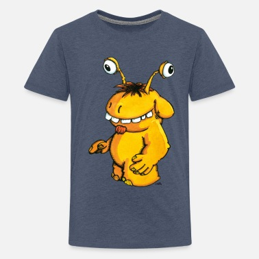 Kinder Monster Monster Ungeheuer Kinder Pullover - Teenager Premium T-Shirt