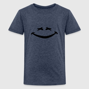 Smiley lachen - Teenager Premium T-Shirt