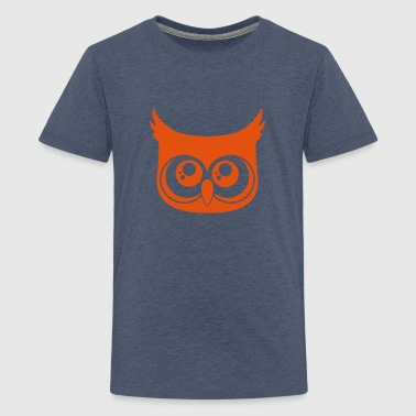 Cute Owl - Teenage Premium T-Shirt