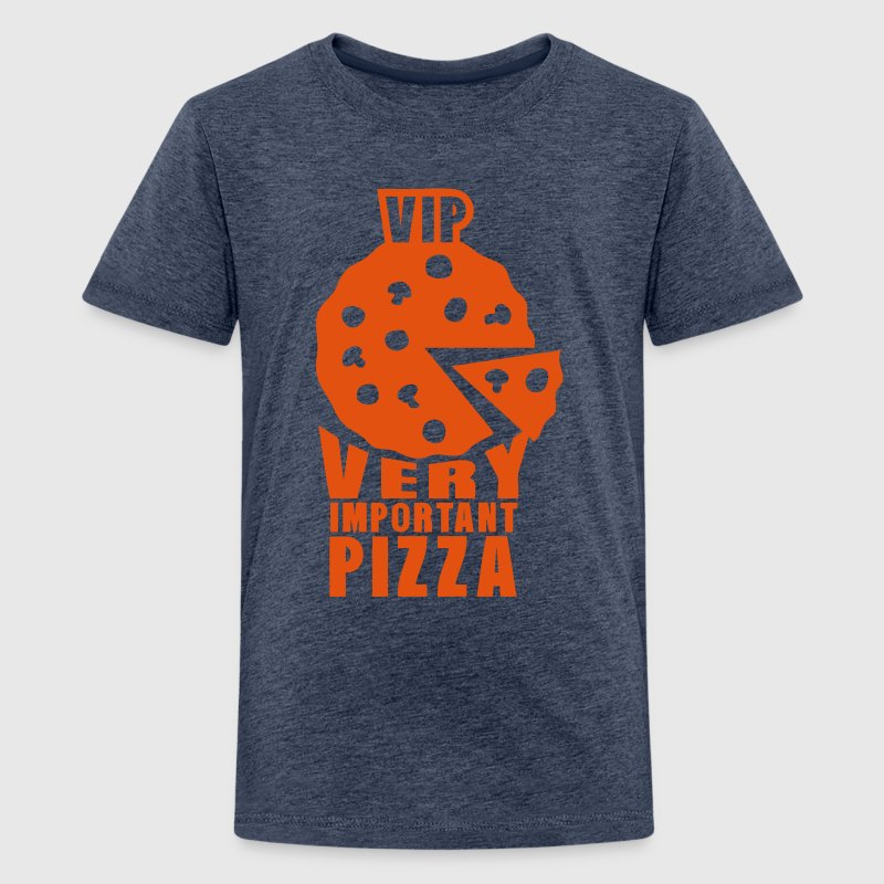 vip very important pizza quote - Teenage Premium T-Shirt