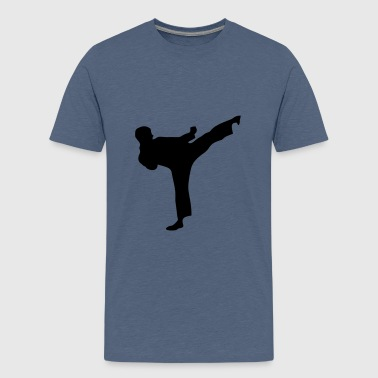 Martial Arts Fighter 1 - Teenager premium T-shirt