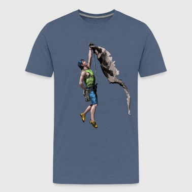 Climbing - Teenager Premium T-shirt
