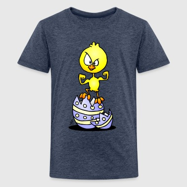 Easter Chick - Teenage Premium T-Shirt