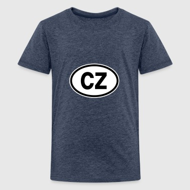 CZ Czech Republic - Teenage Premium T-Shirt