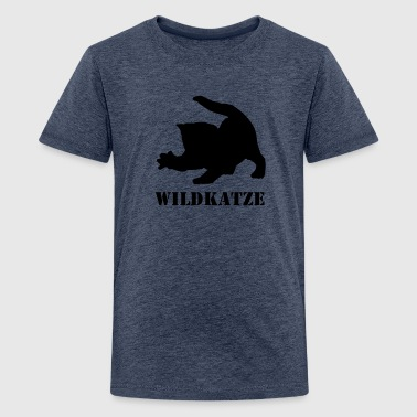 Wildkatze - Teenager Premium T-Shirt