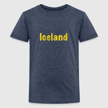 Iceland - Teenager Premium T-Shirt