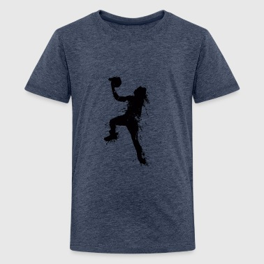 basketballer jump 1 - Teenager Premium T-Shirt