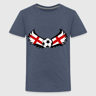 England Soccer - Teenage Premium T-Shirt