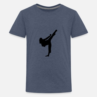 Wushu Martial Arts - woman - Camiseta premium adolescente