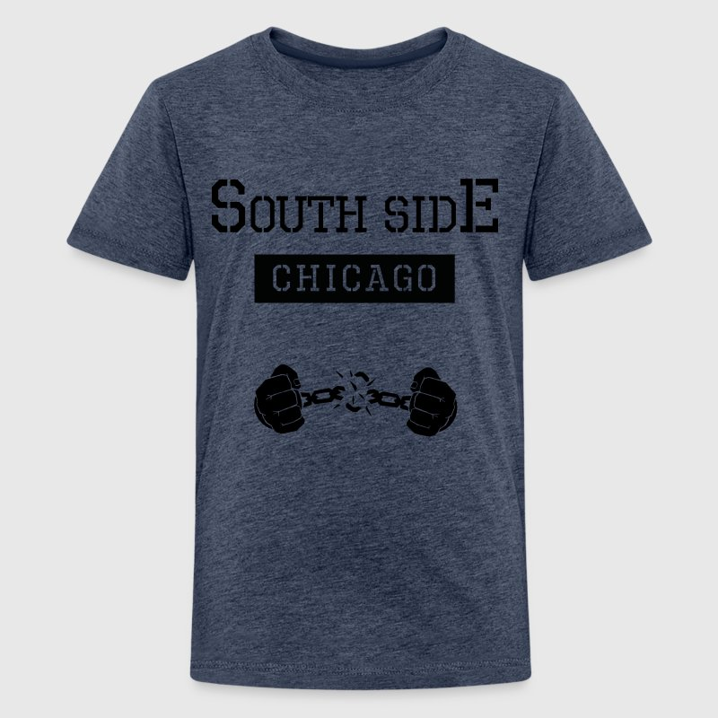 Ghetto South Side Chicago - Teenager Premium T-Shirt